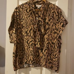 New with Tags Leopard Shirt